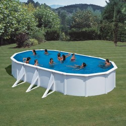 Pool Off Circular Floor Toi Anthracite Prestigio 460×132 cm