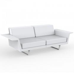 Canapé Vondom Delta sofa blanc 3 places