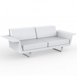 Vondom Delta sofa white 3 seater