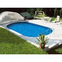Oval Pool Ibiza Family 600 Luxury Buried