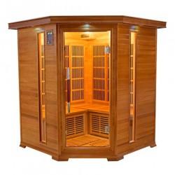 Asientos de sauna de infrarrojos lujo 3-4 - VerySpas selección