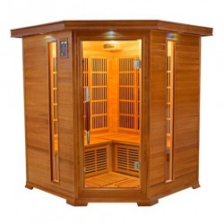 Infrared sauna luxury 3-4 seats - Selection VerySpas