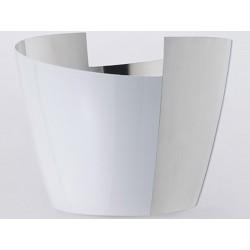 Tin Poli white BigVersso OA1710 champagne bucket