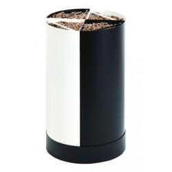 Storekeeper pellet wood Fractio black - white nineteen design