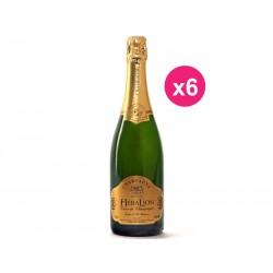 Champagner HeraLion Glanz Gold Reserve Brut (6er Kiste)